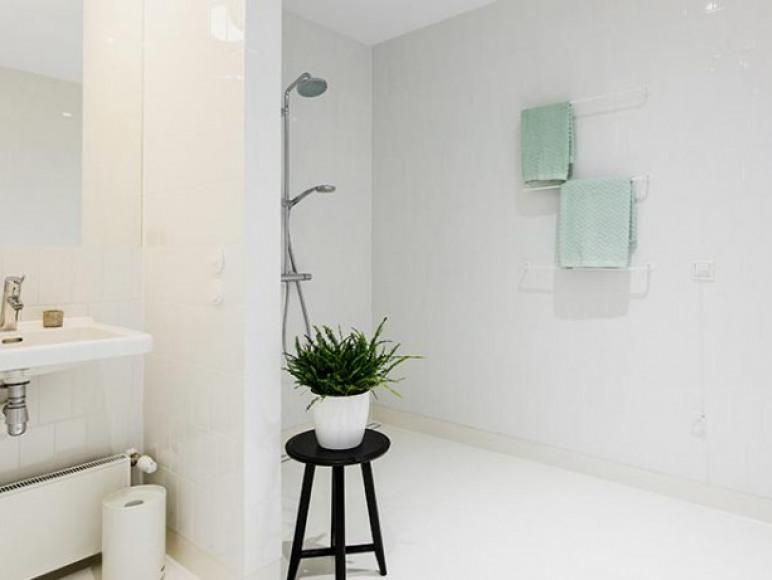 Apartament A - łazienka