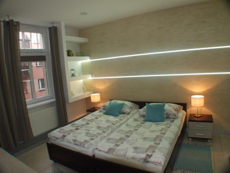 Apartament II - sypialnia