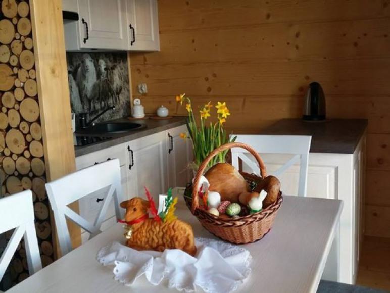 Poczęstunek Wielkanocny dla gości
