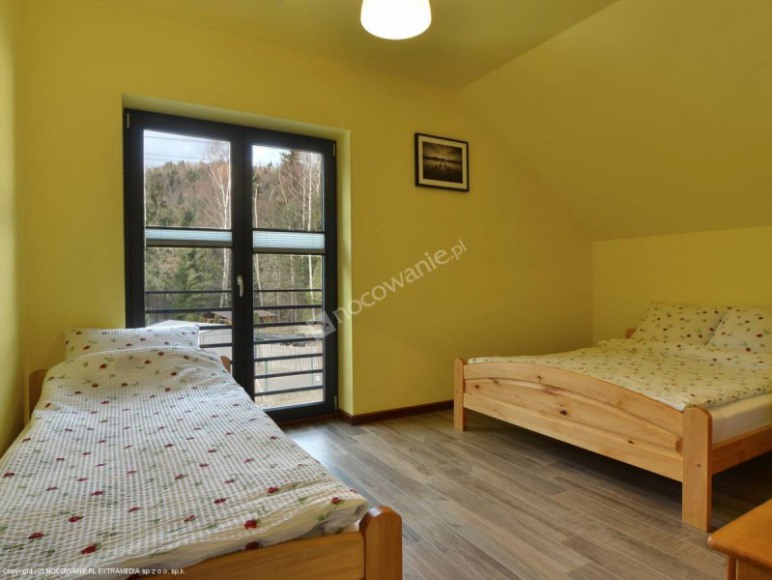 sypialnia - apartament górny