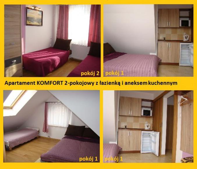 Apartament Komfort 2-pokojowy