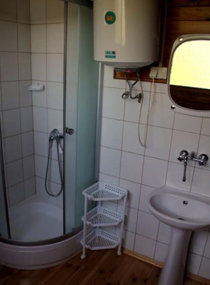 Łazienka w domku Brda