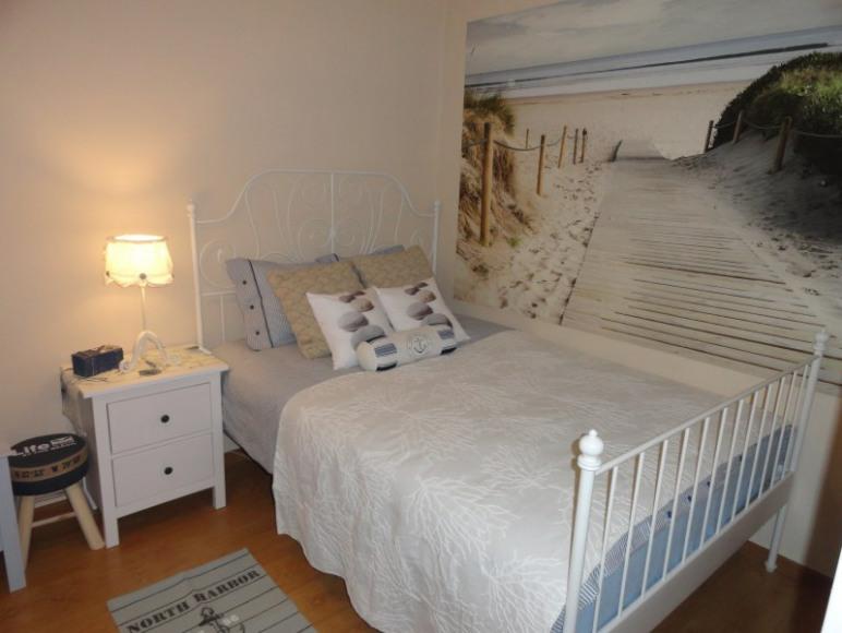 Sea apartament pokój sypialny