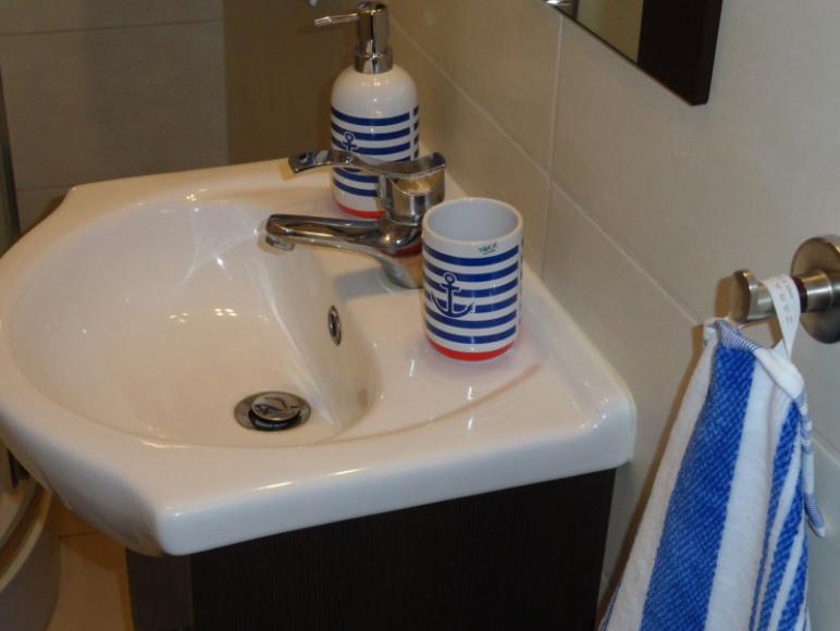 SEA Apartament Hel, łazienka