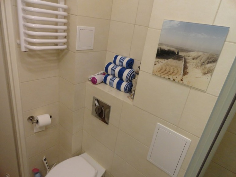 SEA Apartament na Helu, łazienka