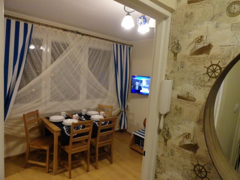 SEA Apartament w Helu, korytarz