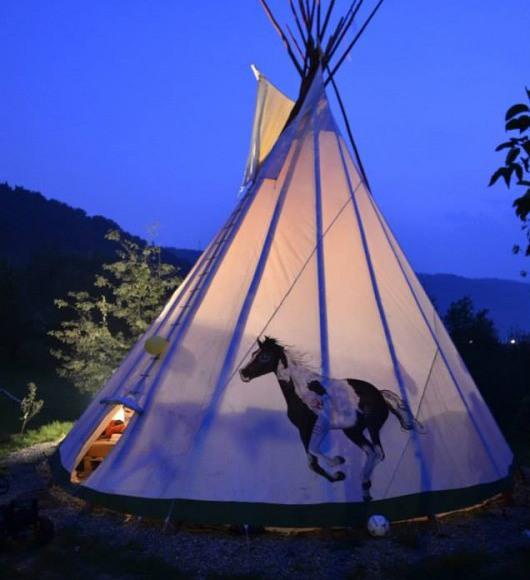 Indiański namiot