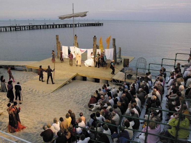 scena letnia teatru w Gdyni