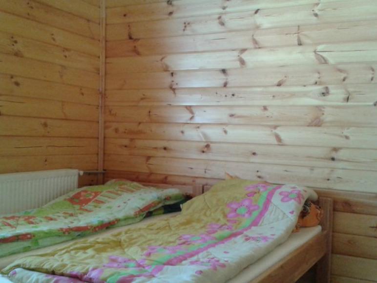 Sypialnia 2 os w Drewnianym Domku