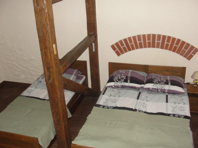 Sypialnia w Pensjonacie