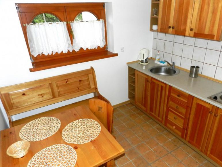 kuchnia - apartamenty 2-4 osobowe