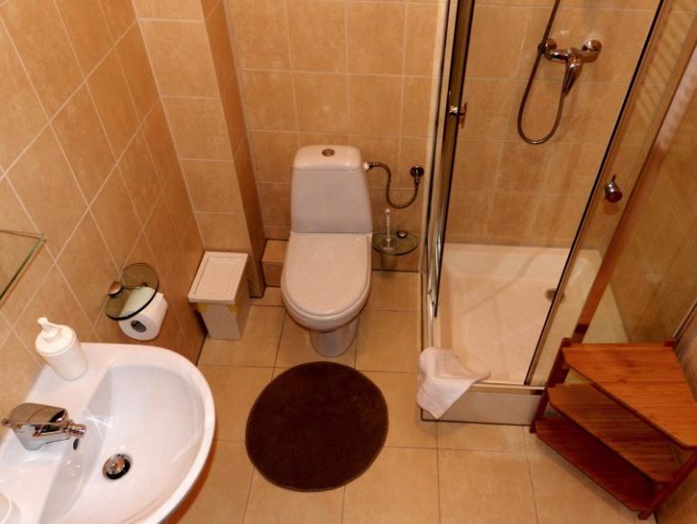 łazienka apartamenty 2-4 osobowe