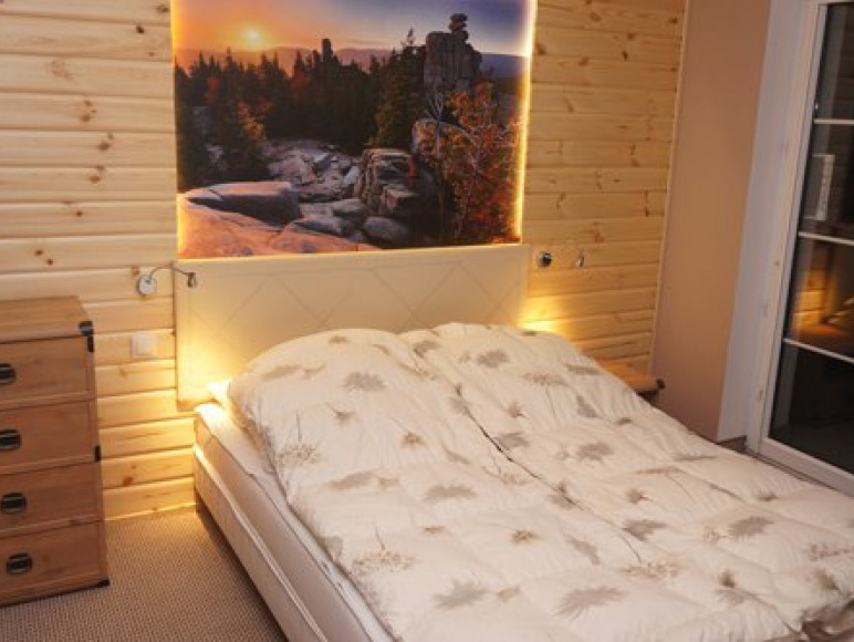 Apartament Cristal-sypialnia