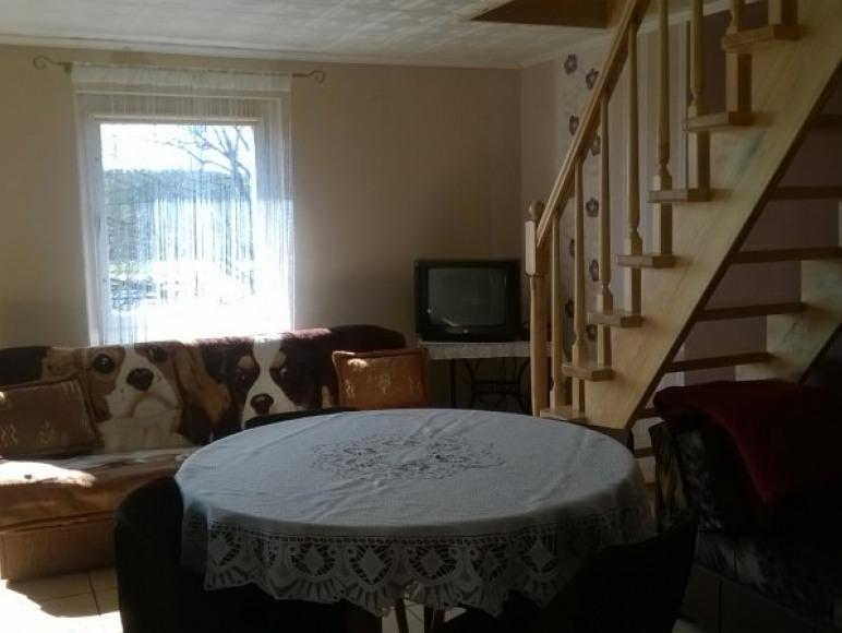 domek murowany salon