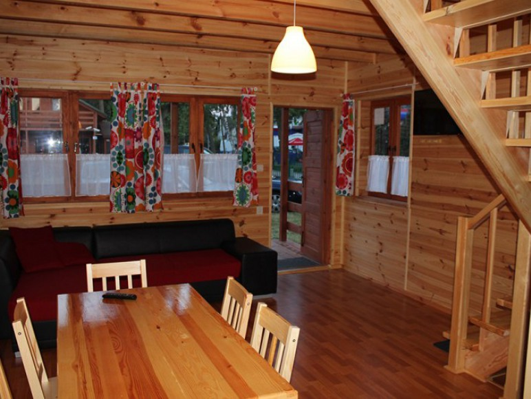 Drewniane domki Mielno Eldorado