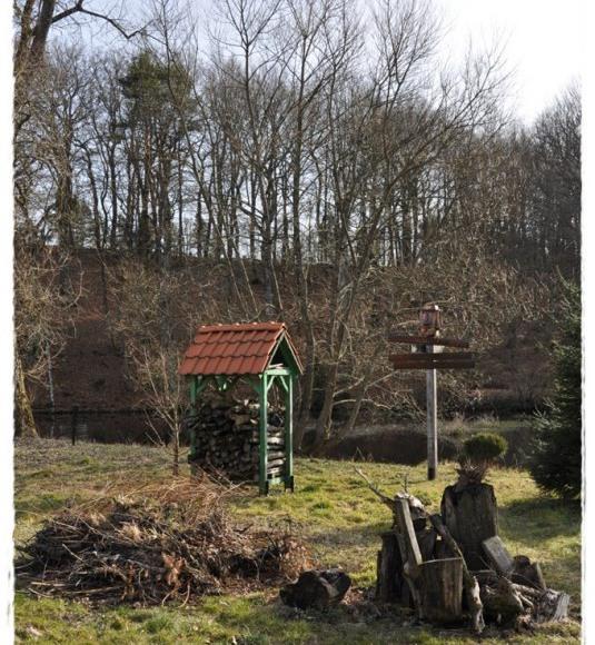 Noclegi na szlaku - domek nad Łupawą