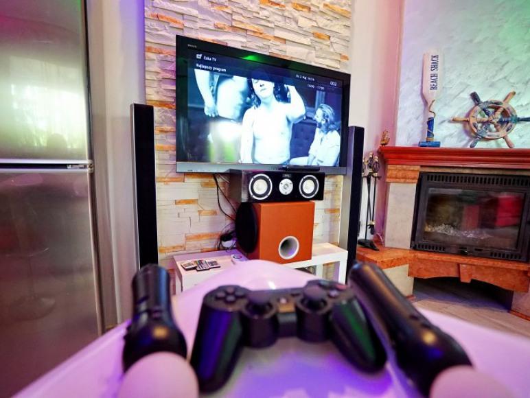 PS3 z zestawem gier