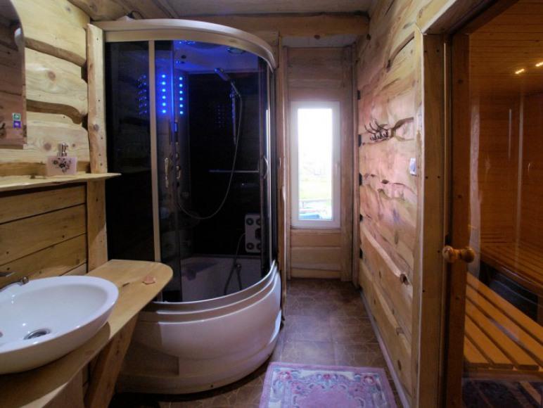 sauna i natrysk