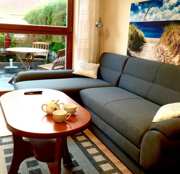Pokój dziennyw apartamencie 2 (rozkładana kanapa)