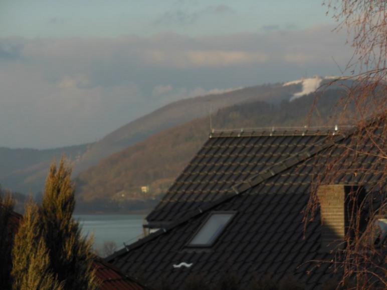widok z balkonu na Żar