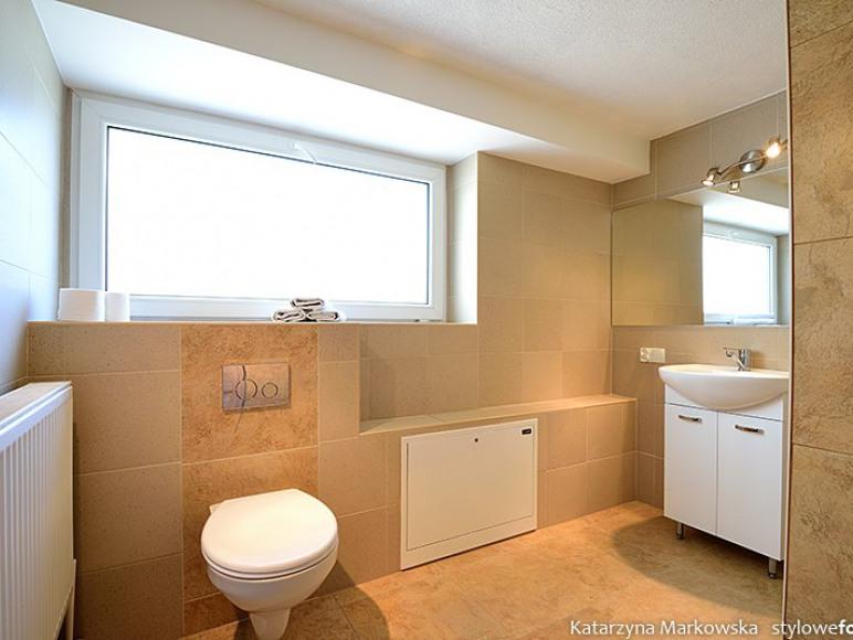 Apartament parter-łazienka