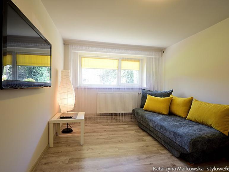 Apartament parter pokój gościnny tv