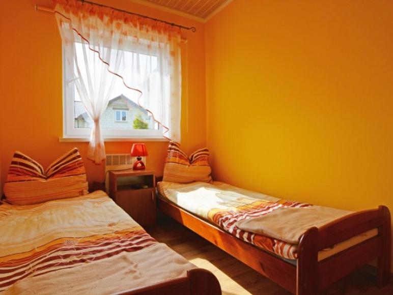 Domek parterowy-Sypialnia