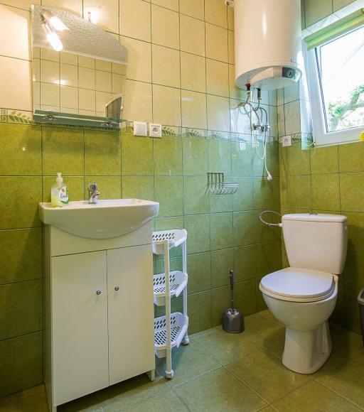 Łazienka Domek Zielony