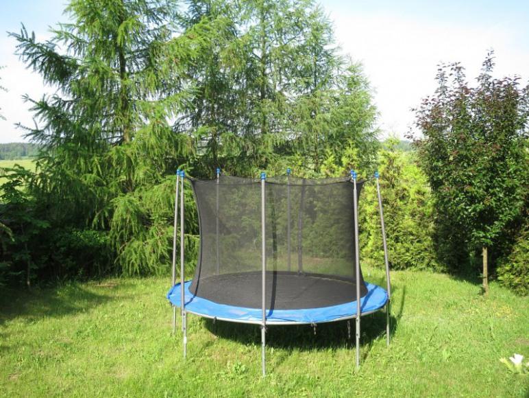 Nowość - trampolina
