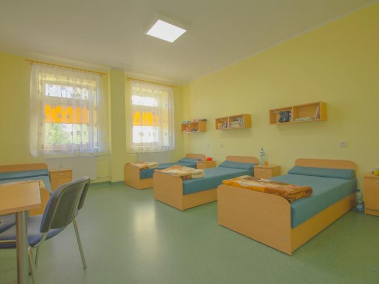 Pokoje dla dzieci w Szpitalu Uzdrowiskowym nr III