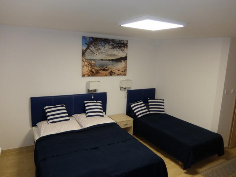 przykładowe pokoje w Komandor 1
