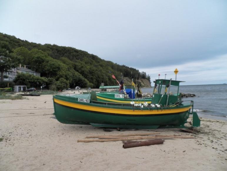 plaże w Orłowie