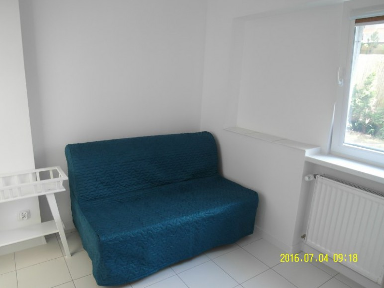 Mniejszy pokój - mieszkanie turkusowe