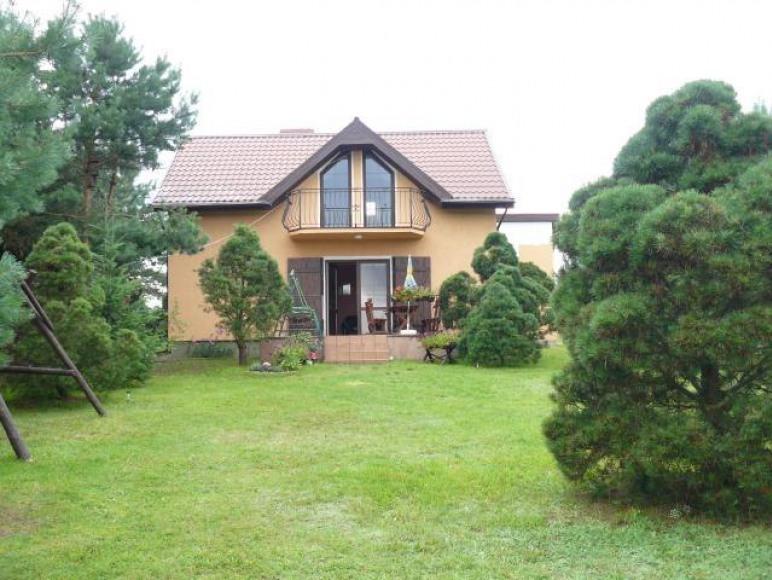 Dom Całoroczny Bratek z widokiem na jezioro