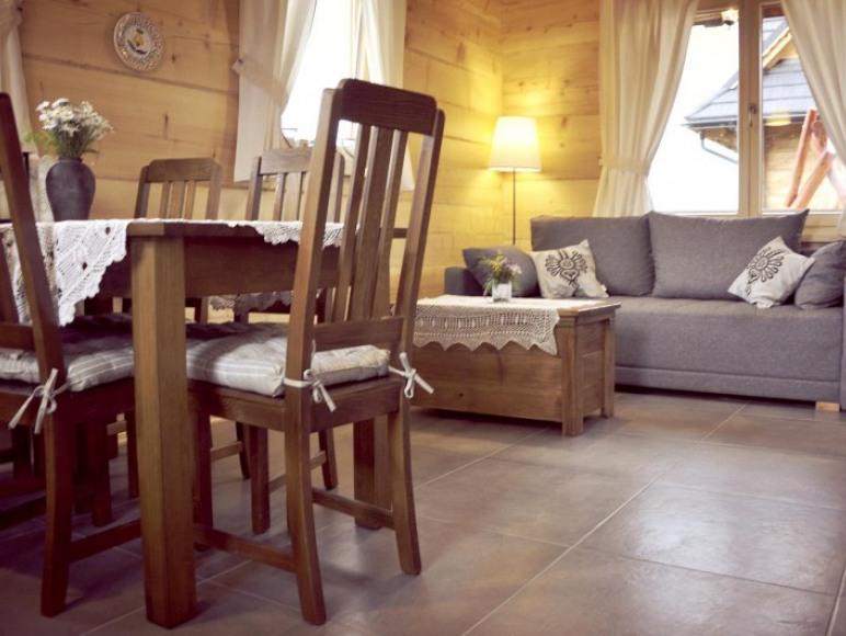Domki Widokówka z widokiem na Tatry - salon