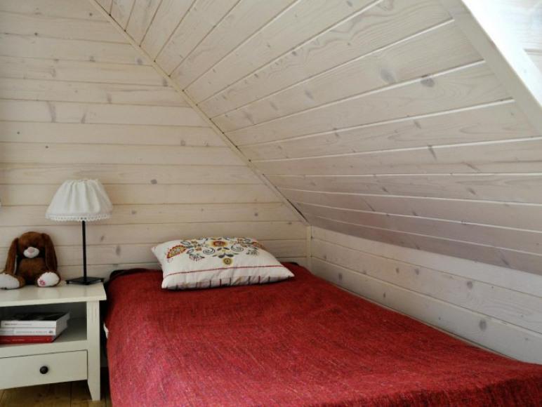 Domki Widokówka z widokiem na Tatry - sypialnia
