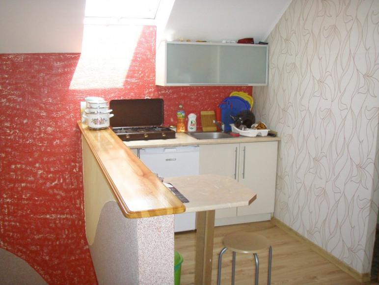 Kuchnia dla pokoju Czekoladowego, Słonecznego, Motylek