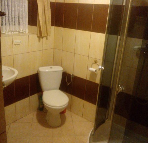 łazienka pokoju Miodowego