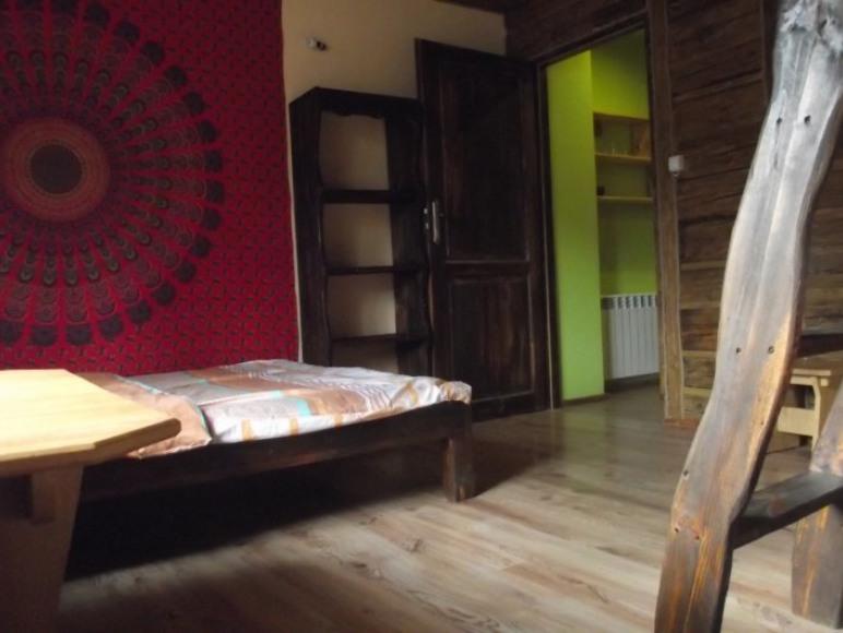 sypialnia w mieszkanku