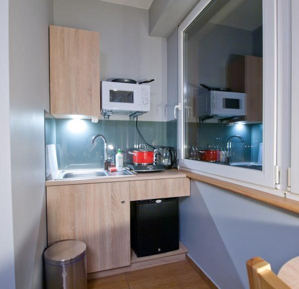 Aneks kuchenny w pokoju New York