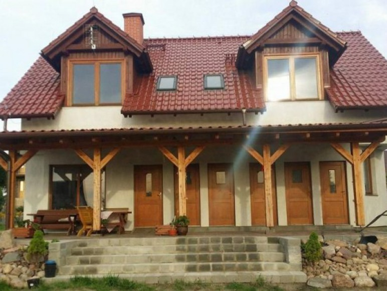 Pokoje nad jeziorem Charzykowy
