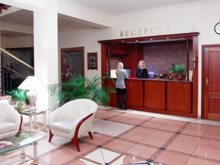 Lobby przy recepcji