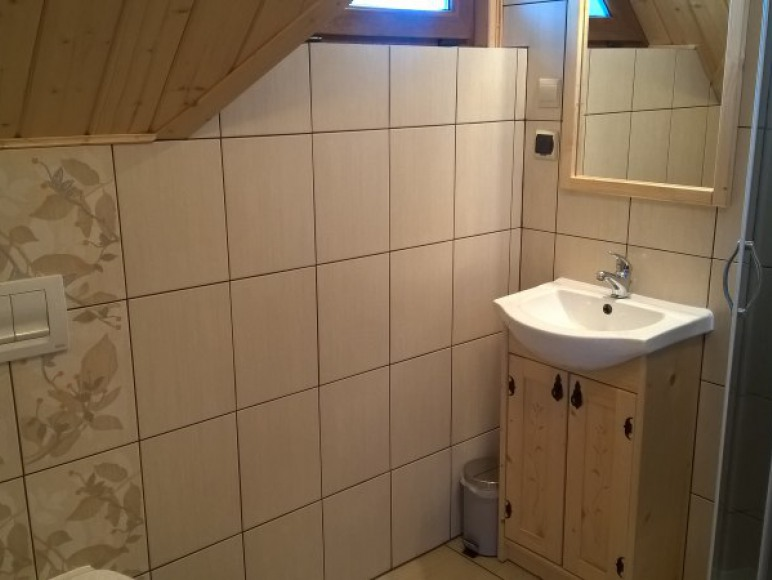 łazienka w pokoju nr 1 na piętrze