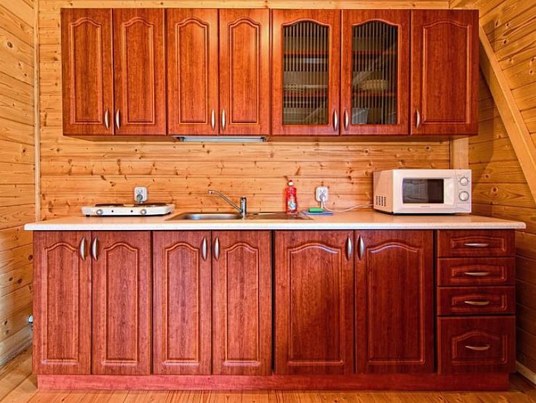 Domki Zefir Rowy, aneks kuchenny