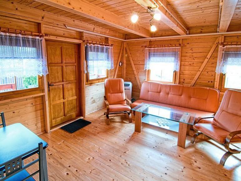 Domki Zefir Rowy, salon