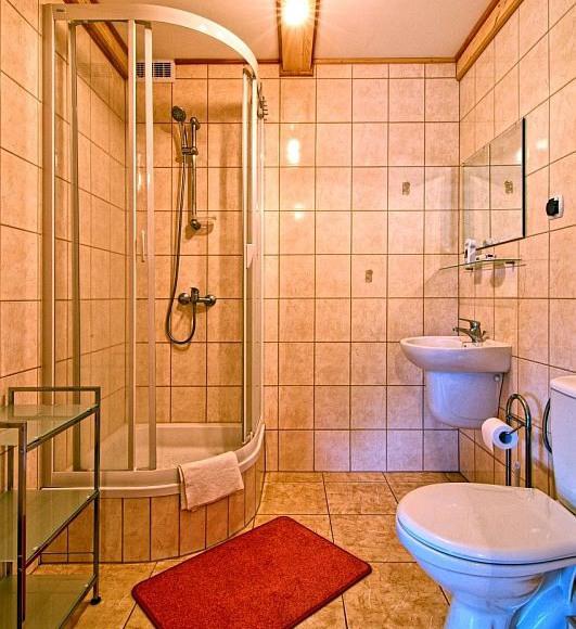 Domki Zefir Rowy, łazienka