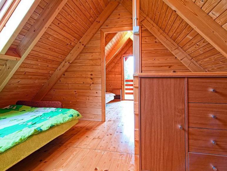 Domki Zefir Rowy, sypialnia