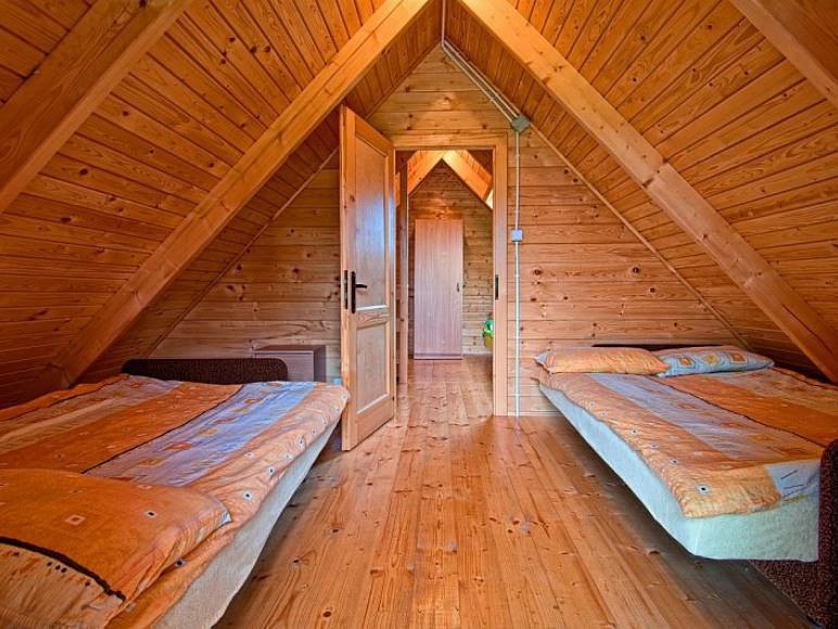 Domki Zefir Rowy,sypialnia