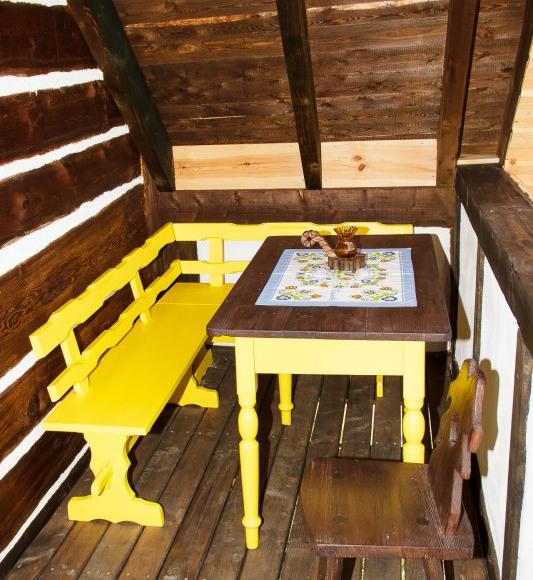 taras w izbie kaszubskiej