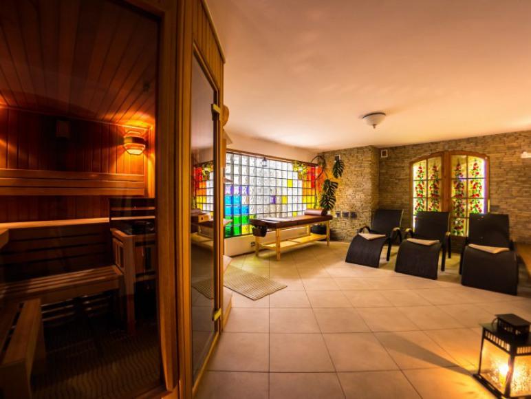 Strefa SPA - sauna